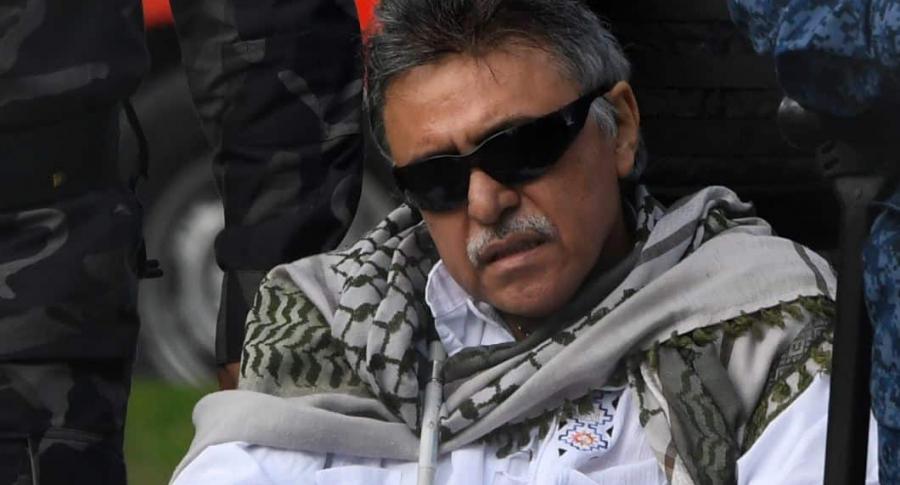Video: así fue la recaptura de 'Santrich' cuando salía de la cárcel