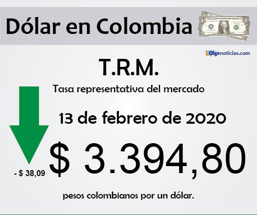 dolar 13feb20