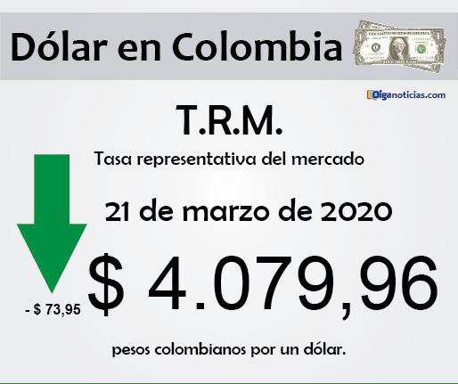 dolar 21mar20