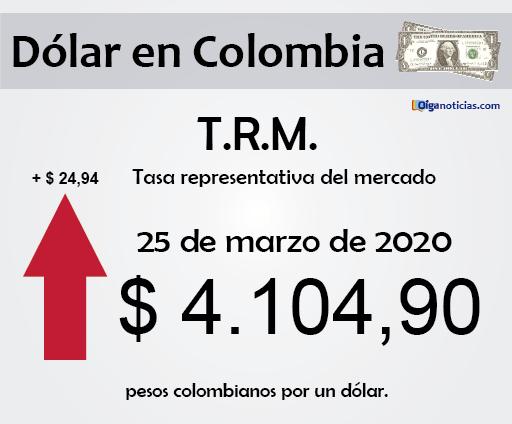 dolar 25mar20