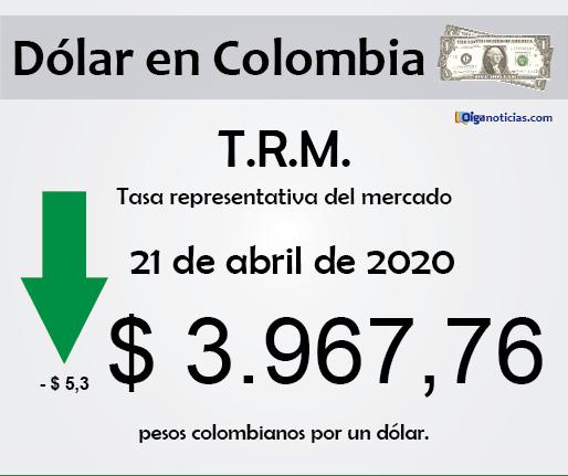 dolar 21abr20