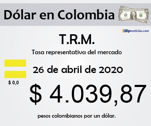 dolar 26abr20