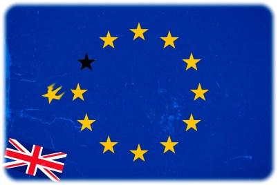 Ein Brexit, also ein EU-Austritt der Briten, würde auch Deutschland schaden und die EU strategisch ändern. meint ifo-Präsident Clemens Fuest. Montage: hw, Flaggenabb.: EU-Kommission, Wikipedia, UK, Public Domain