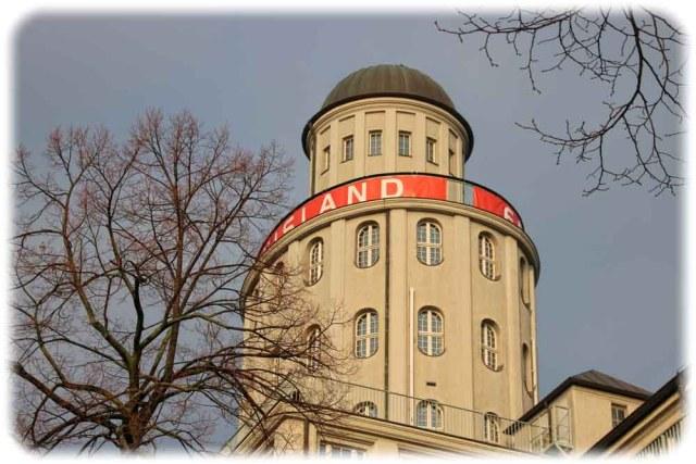 Turm der Technischen Sammlungen Dresden. Foto: Heiko Weckbrodt