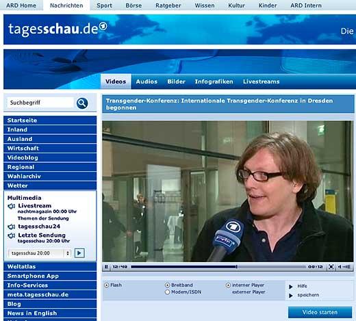 tasgesschau.de - Transgender-Konferenz: Internationale Transgender-Konferenz in Dresden begonnen