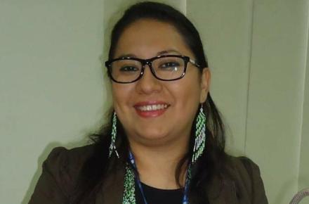 Lorena Terrazas. Directora Ejecutiva del Ministerio de Medio Ambiente y Agua de Bolivia.