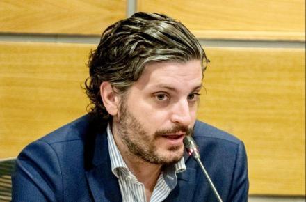 Antonio Magraner. Vicepresidente de la Confederación Española de Jóvenes Empresarios.