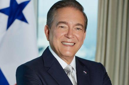 Laurentino Cortizo. Presidente de la República de Panamá.