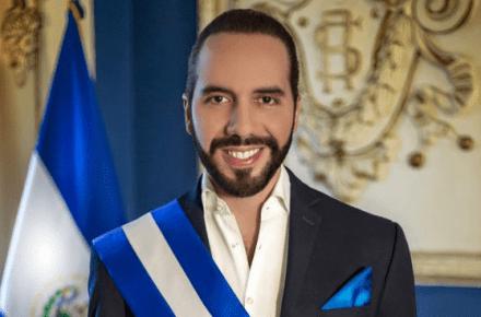 Nayib Bukele. Presidente de la República de El Salvador.