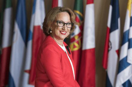 Rebeca Grynspan. Secretaria General de la Secretaría General Iberoamericana.