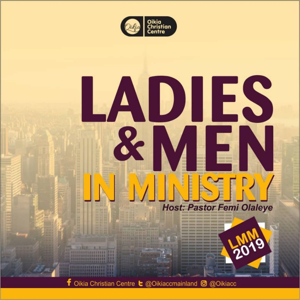 Ladies and Men in Ministry (LMM) 2019