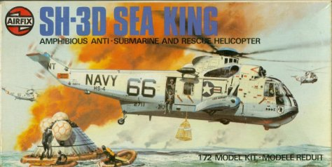 Airfix 1/72 Sea King boxtop