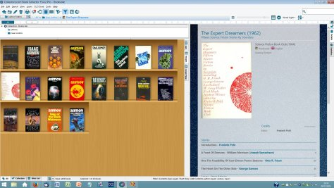 Book Collector screen capture images view