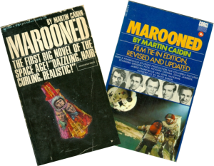 Two editions of Marooned