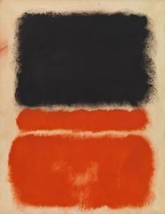 """Mark Rothko """"Red"""" 1968"""