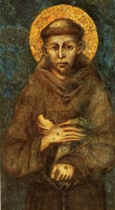 St Francis of Assisi (13th Century, Cimabue)