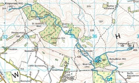 Sidlaws: Kinpurney to Craigowl