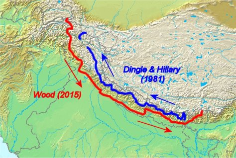 Comparison of Himalayan traverses