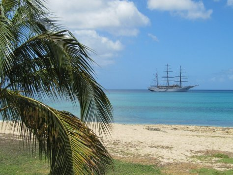 Beach and ship