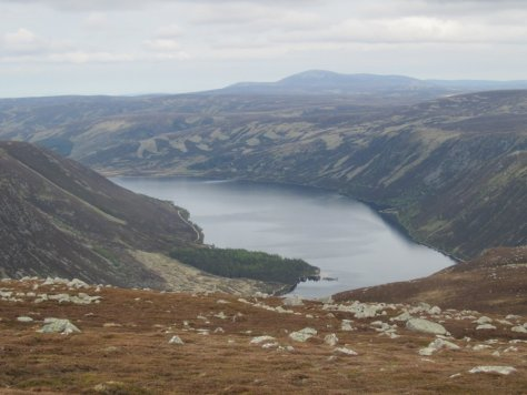 Loch Muick from Broad Cairn
