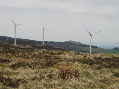 Kinpurney Hill from Carlunie Hill