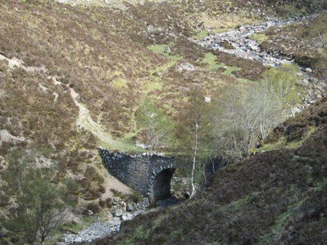 The New Bridge in Gleann Mhairc