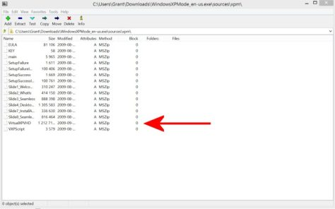 7-Zip screenshot 2