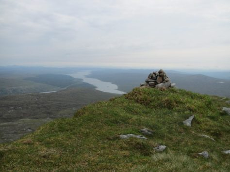 Upper Loch Shin from Meallan a' Chuail