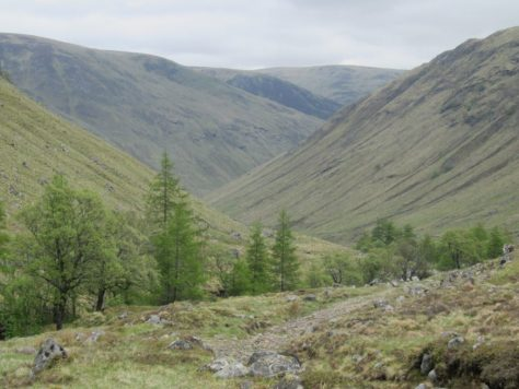 Glen Clova from Bachnagairn