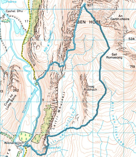 Ben Hope route