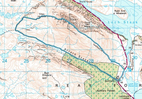 Ben Stack route