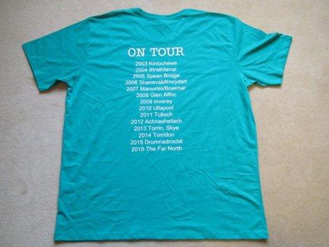 CCCP T-shirt back