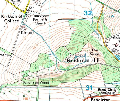Bandirran Hill route