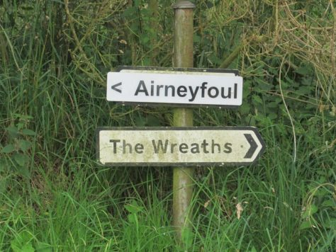 Airneyfoul sign