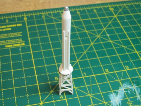 Revell Launch Escape Tower, detailed