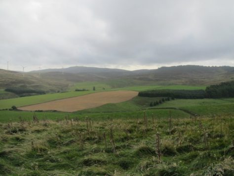 Head of Denoon Glen from Back Drum