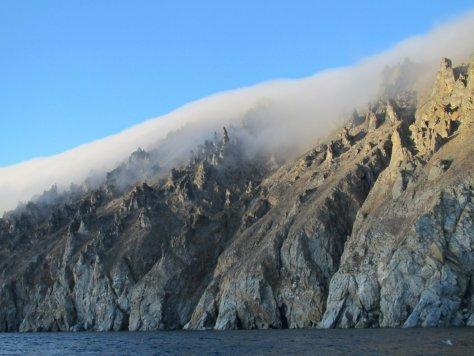 Orographic cloud, Herald Island