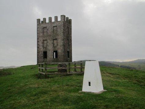 Summit of Kinpurney Hill