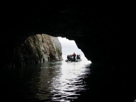 Zodiac in a cave