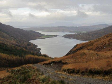 Loch Creran from Allt Buidhe track