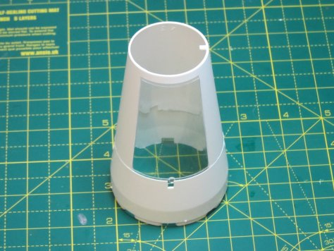 Revell 1/96 Saturn V SLA parts dry assembly