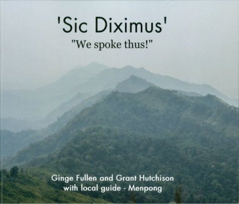 Cover of Sic Diximus, by Ginge Fullen