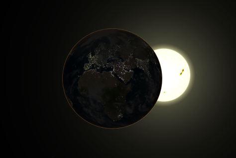 Earth at perihelion