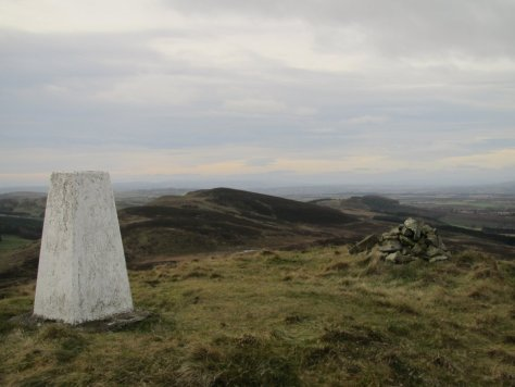 View from King's Seat towards Black Hill