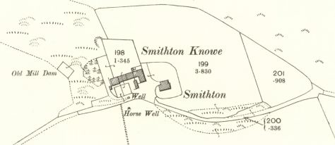 25-inch OS map of Smithton, 1900