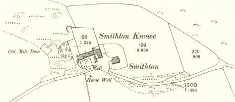25-inch OS map of Smithton, 1900
