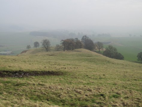 Smithton Knowe from the west