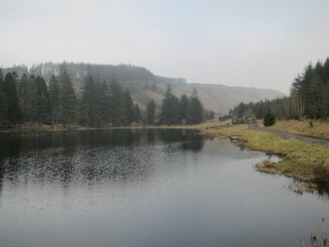 Ledcrieff Loch and Lundie Craigs