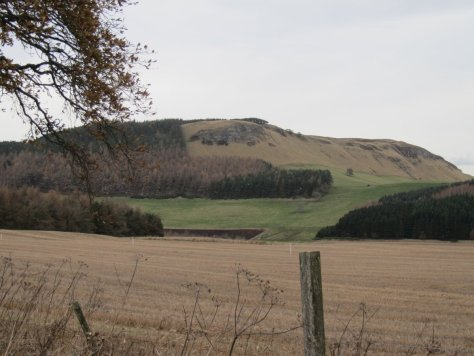 Gask Hill from Stockmuir