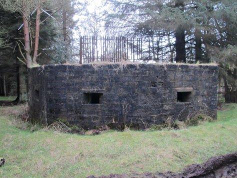 Type 27 antiaircraft pillbox, Douglas Wood Chain Home Radar station